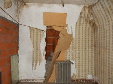 before photo, old to new, old house restoration-