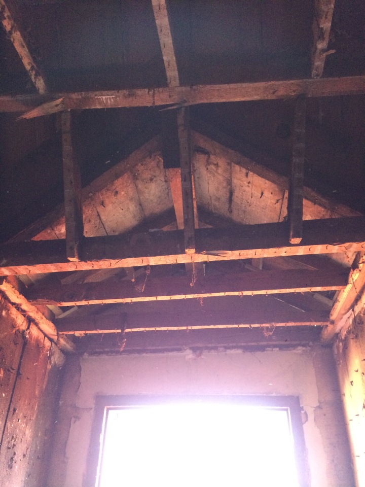 Dormers in old houses, changing the look of your ceiling.