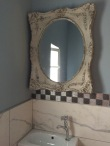 Ancient mirrors, combining old and new.