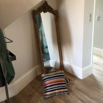 Dressing mirror.