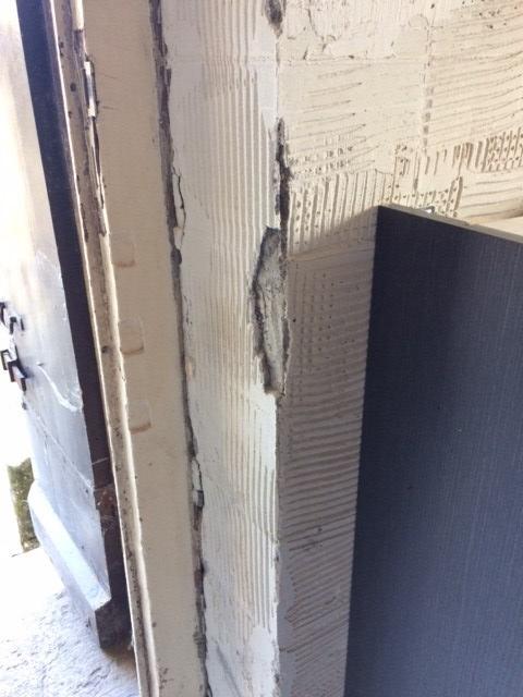 plaster work