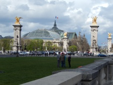 Grand Palais with Pont AlexandreIII in the foreground