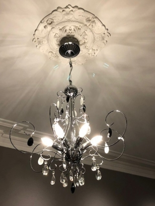 Salon Chandelier Medallion